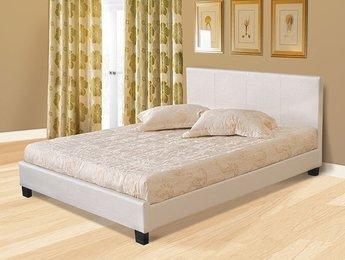 Кровать Королевство сна Nairobi PU Pearl/White
